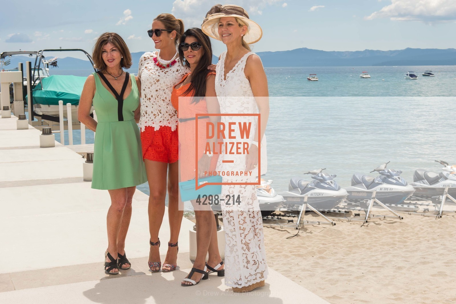 Dianne Yancey, Sujara Pherwani, Kimberly Sharp, Saks Fifth Avenue and The League to Save Lake Tahoe Present Fashion on the Lake, Private Residence, August 1st, 2015,Drew Altizer, Drew Altizer Photography, full-service agency, private events, San Francisco photographer, photographer california