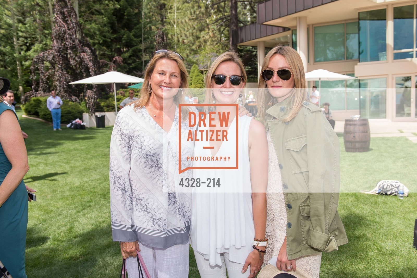 Jane Ellerbeck, Katie Ellerbeck, Libby Ellerbeck, Saks Fifth Avenue and The League to Save Lake Tahoe Present Fashion on the Lake, Private Residence, August 1st, 2015,Drew Altizer, Drew Altizer Photography, full-service agency, private events, San Francisco photographer, photographer california