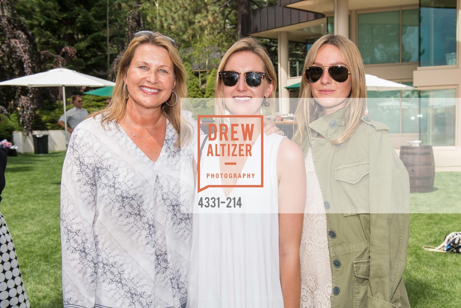 Jane Ellerbeck, Katie Ellerbeck, Lizzie Ellerbeck, Saks Fifth Avenue and The League to Save Lake Tahoe Present Fashion on the Lake, Private Residence, August 1st, 2015,Drew Altizer, Drew Altizer Photography, full-service agency, private events, San Francisco photographer, photographer california