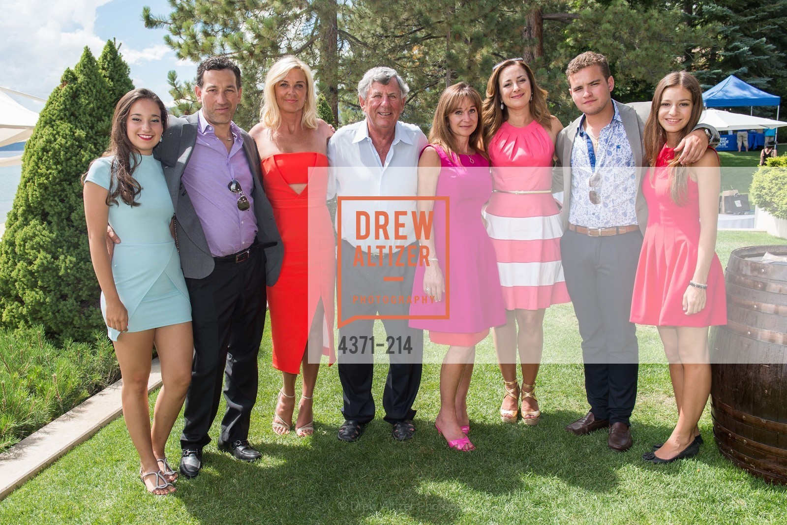 Veronica Gonzalez, Guillermo Gonzalez, Angela Karp, Kern Schumacher, Maria Urso, Veronica Salinas, Raquel Gonzalez, Saks Fifth Avenue and The League to Save Lake Tahoe Present Fashion on the Lake, Private Residence, August 1st, 2015,Drew Altizer, Drew Altizer Photography, full-service agency, private events, San Francisco photographer, photographer california