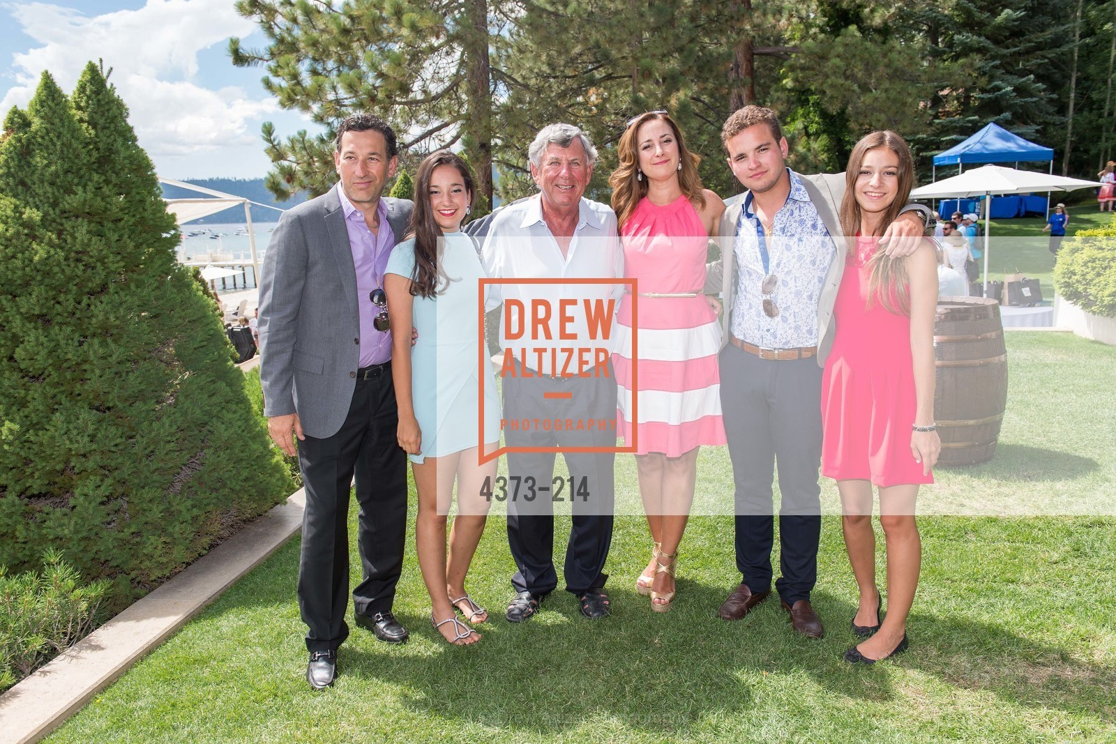 Guillermo Gonzalez, Veronica Gonzalez, Kern Schumacher, Veronica Salinas, Raquel Gonzalez, Saks Fifth Avenue and The League to Save Lake Tahoe Present Fashion on the Lake, Private Residence, August 1st, 2015,Drew Altizer, Drew Altizer Photography, full-service agency, private events, San Francisco photographer, photographer california