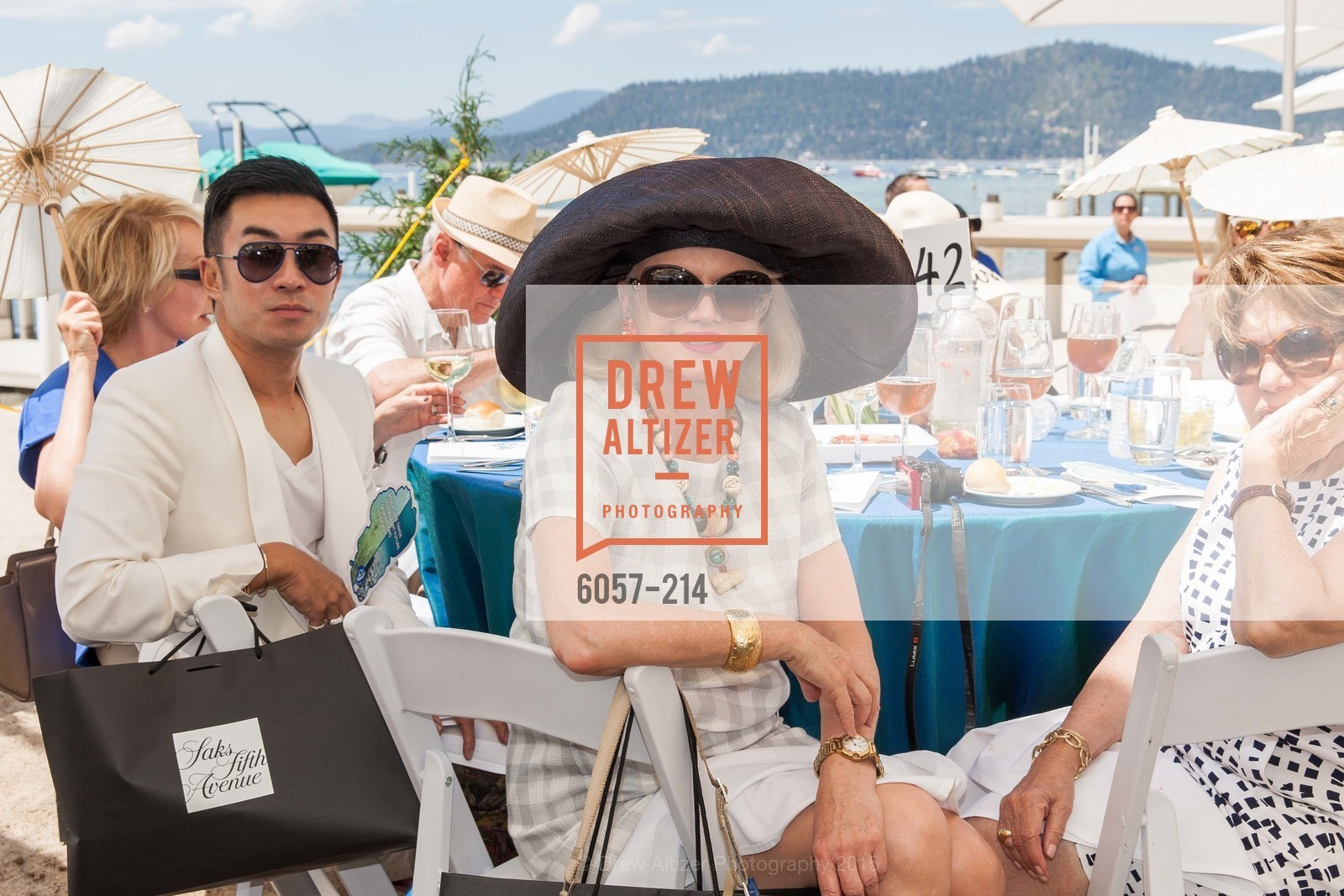 Kai Tan, Heidi Betz, Saks Fifth Avenue and The League to Save Lake Tahoe Present Fashion on the Lake, Private Residence, August 1st, 2015,Drew Altizer, Drew Altizer Photography, full-service agency, private events, San Francisco photographer, photographer california