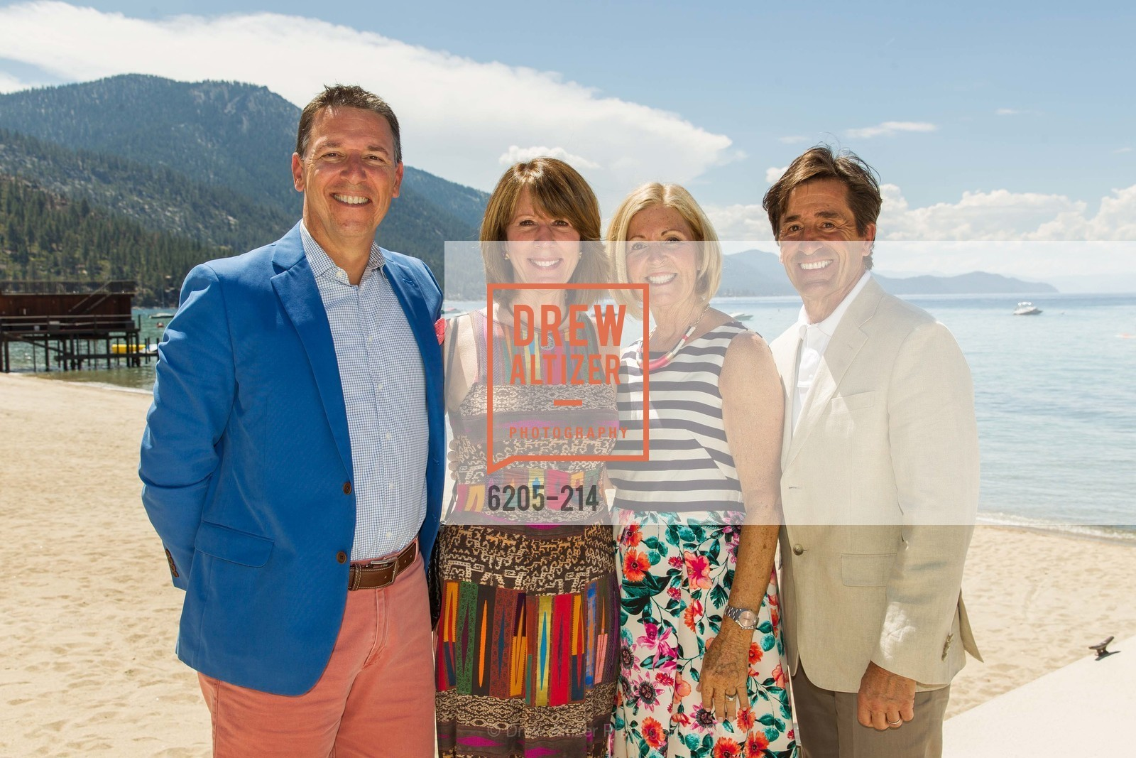 Glenn Bunting, Nancy Damaschino, Willo Bunting, Bob Damaschino, Saks Fifth Avenue and The League to Save Lake Tahoe Present Fashion on the Lake, Private Residence, August 1st, 2015,Drew Altizer, Drew Altizer Photography, full-service agency, private events, San Francisco photographer, photographer california
