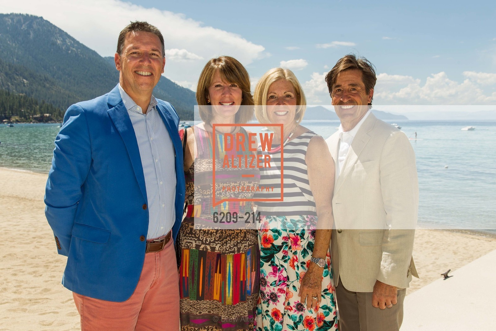 Glenn Bunting, Nancy Damaschino, Willo Bunting, Bob Damaschino, Saks Fifth Avenue and The League to Save Lake Tahoe Present Fashion on the Lake, Private Residence, August 1st, 2015,Drew Altizer, Drew Altizer Photography, full-service event agency, private events, San Francisco photographer, photographer California