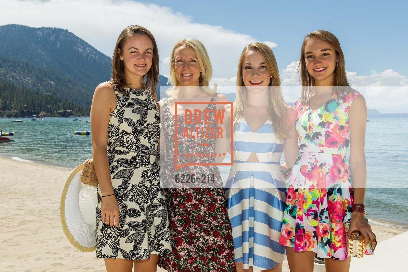 Gabrielle Girard, Ann Girard, Renee Girard, Virginia Girard, Saks Fifth Avenue and The League to Save Lake Tahoe Present Fashion on the Lake, Private Residence, August 1st, 2015,Drew Altizer, Drew Altizer Photography, full-service agency, private events, San Francisco photographer, photographer california
