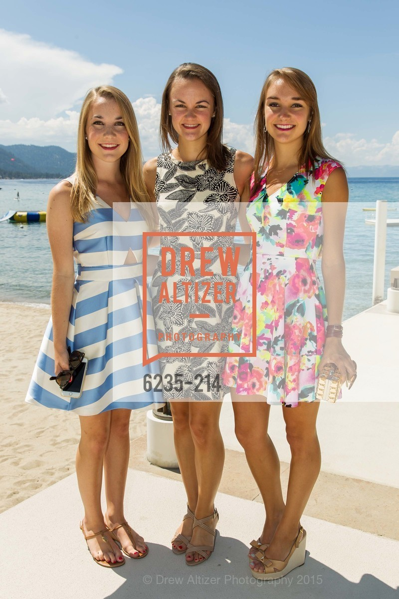 Renee Girard, Gabrielle Girard, Virginia Girard, Saks Fifth Avenue and The League to Save Lake Tahoe Present Fashion on the Lake, Private Residence, August 1st, 2015,Drew Altizer, Drew Altizer Photography, full-service agency, private events, San Francisco photographer, photographer california