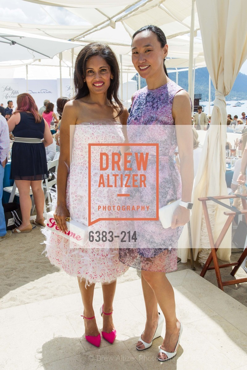Komal Shah, Carolyn Chang, Saks Fifth Avenue and The League to Save Lake Tahoe Present Fashion on the Lake, Private Residence, August 1st, 2015