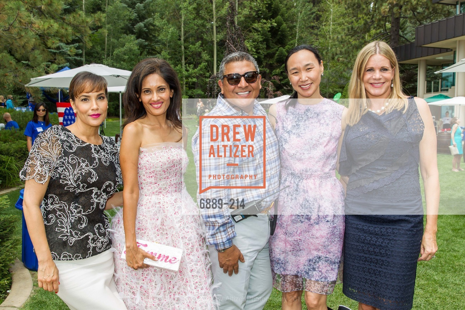 Lora DuBain, Komal Shah, Riccardo Benavides, Carolyn Chang, Mary Beth Shimmon, Saks Fifth Avenue and The League to Save Lake Tahoe Present Fashion on the Lake, Private Residence, August 1st, 2015,Drew Altizer, Drew Altizer Photography, full-service agency, private events, San Francisco photographer, photographer california