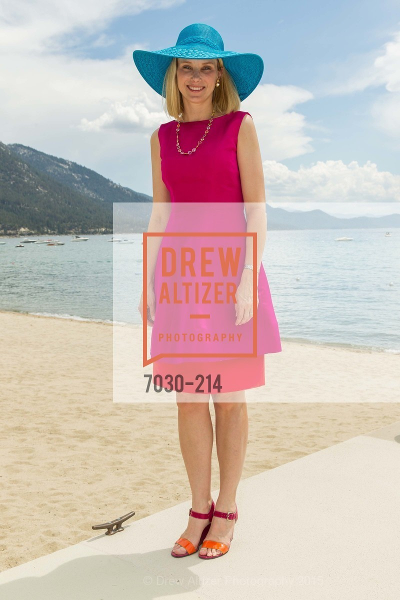 Marissa Mayer, Saks Fifth Avenue and The League to Save Lake Tahoe Present Fashion on the Lake, Private Residence, August 1st, 2015