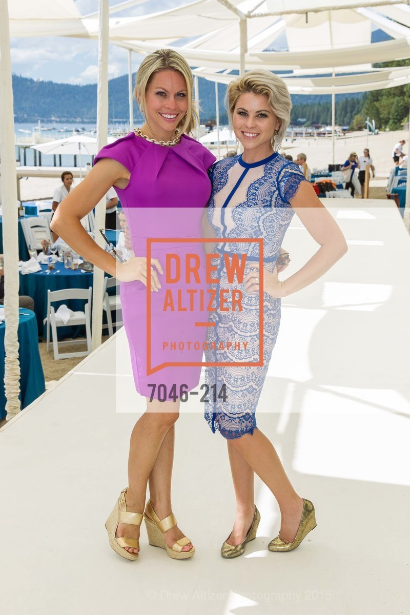 Cali Carlin, Brittany Carlin, Saks Fifth Avenue and The League to Save Lake Tahoe Present Fashion on the Lake, Private Residence, August 1st, 2015,Drew Altizer, Drew Altizer Photography, full-service agency, private events, San Francisco photographer, photographer california