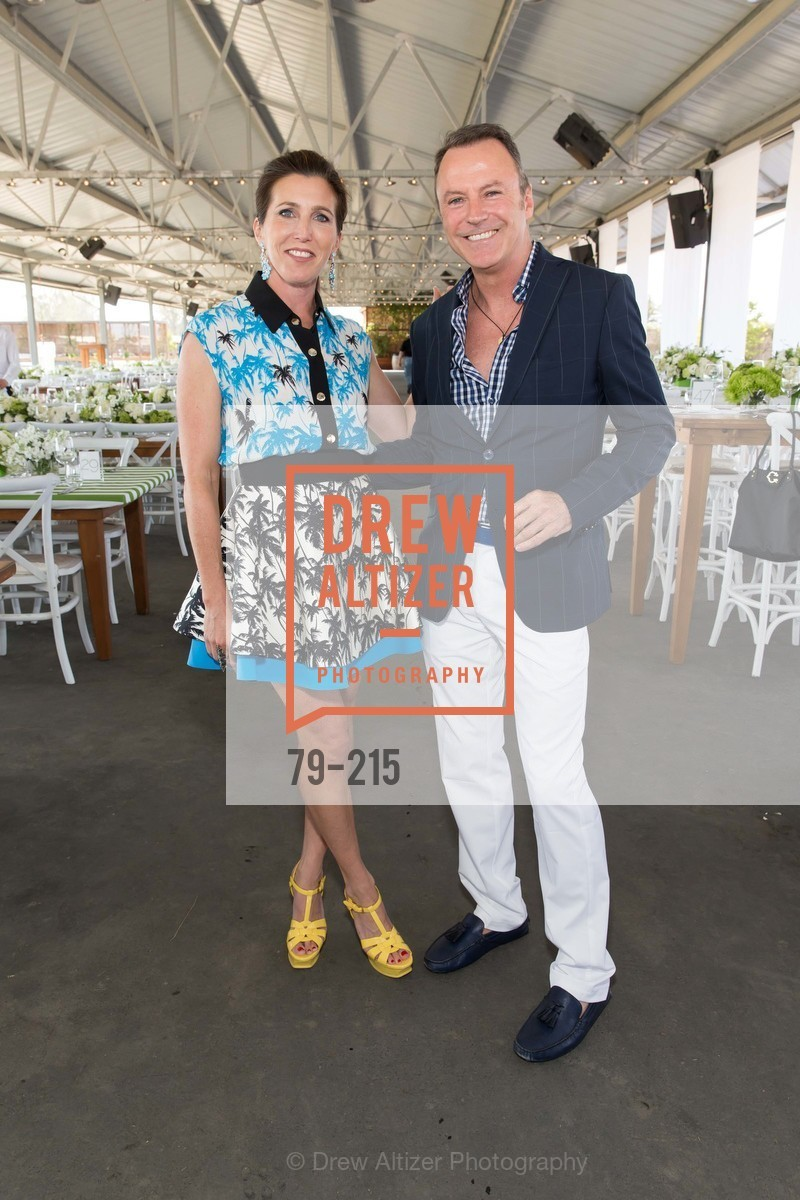 Sloan Barnett, Colin Cowie, 2015 GIANT STEPS Charity Classic presented by Hermes, Sonoma Horse Park. 7600 Lakeville Highway, August 1st, 2015