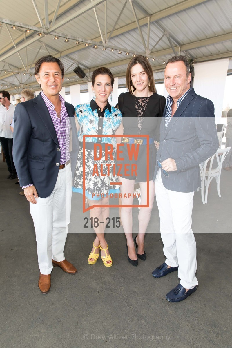 Roger Barnett, Sloan Barnett, Ashley Herman, Colin Cowie, 2015 GIANT STEPS Charity Classic presented by Hermes, Sonoma Horse Park. 7600 Lakeville Highway, August 1st, 2015,Drew Altizer, Drew Altizer Photography, full-service agency, private events, San Francisco photographer, photographer california
