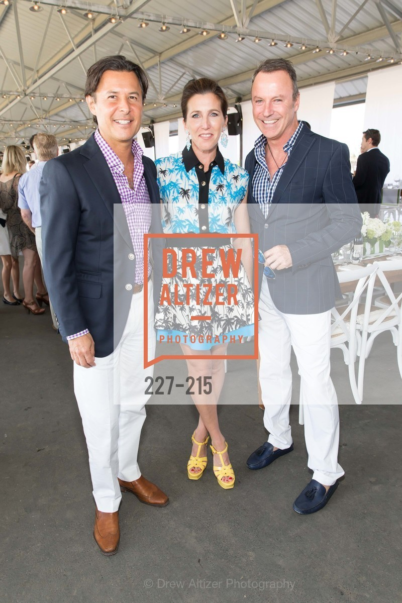Roger Barnett, Sloan Barnett, Colin Cowie, 2015 GIANT STEPS Charity Classic presented by Hermes, Sonoma Horse Park. 7600 Lakeville Highway, August 1st, 2015,Drew Altizer, Drew Altizer Photography, full-service agency, private events, San Francisco photographer, photographer california