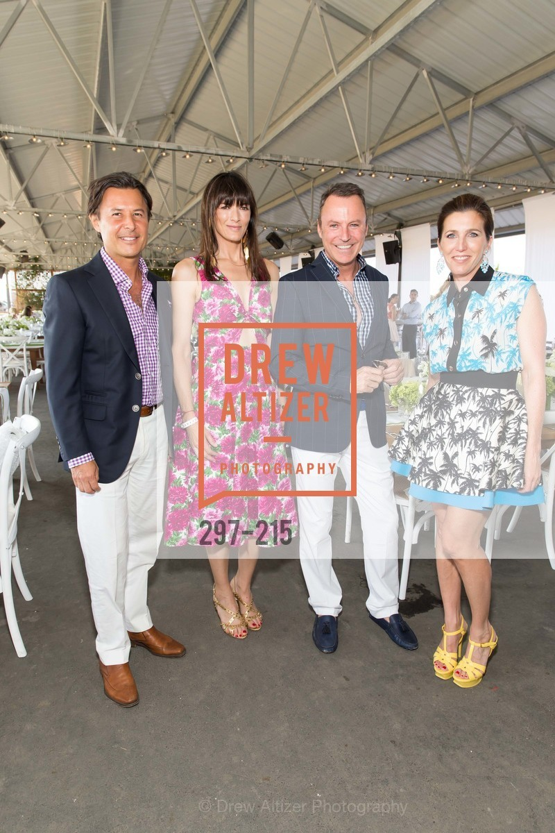 Roger Barnett, Gwen McCaw, Colin Cowie, Sloan Barnett, 2015 GIANT STEPS Charity Classic presented by Hermes, Sonoma Horse Park. 7600 Lakeville Highway, August 1st, 2015,Drew Altizer, Drew Altizer Photography, full-service event agency, private events, San Francisco photographer, photographer California