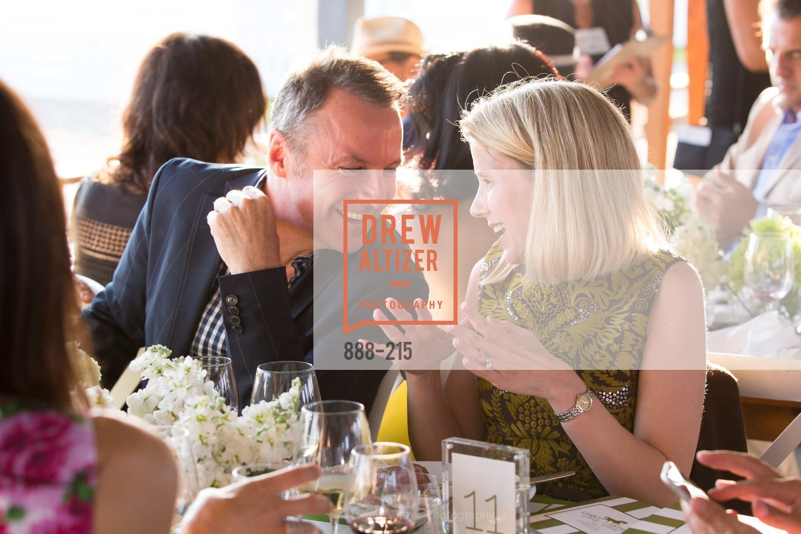 Colin Cowie, Marissa Mayer, 2015 GIANT STEPS Charity Classic presented by Hermes, Sonoma Horse Park. 7600 Lakeville Highway, August 1st, 2015,Drew Altizer, Drew Altizer Photography, full-service agency, private events, San Francisco photographer, photographer california