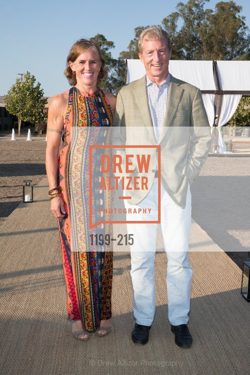 Kat Taylor, Tom Steyer, 2015 GIANT STEPS Charity Classic presented by Hermes, Sonoma Horse Park. 7600 Lakeville Highway, August 1st, 2015,Drew Altizer, Drew Altizer Photography, full-service agency, private events, San Francisco photographer, photographer california
