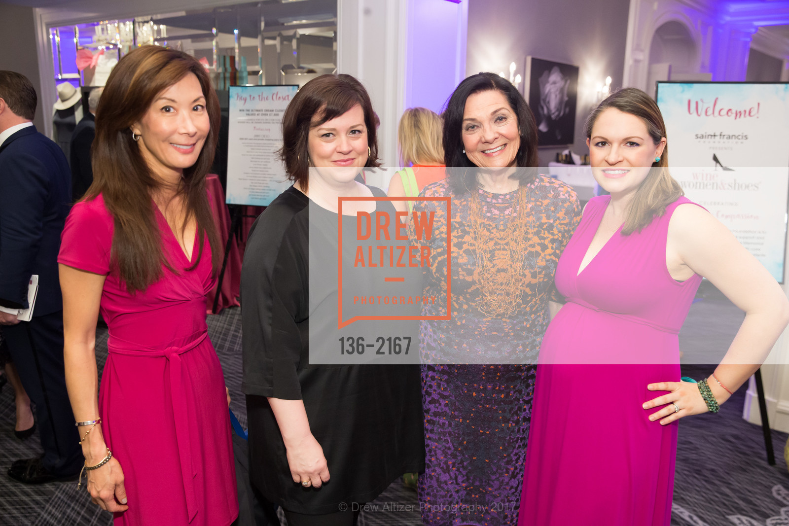 Patti Lee, Natasha Miller, Pamela Culp, Allison Lamm, Photo #136-2167