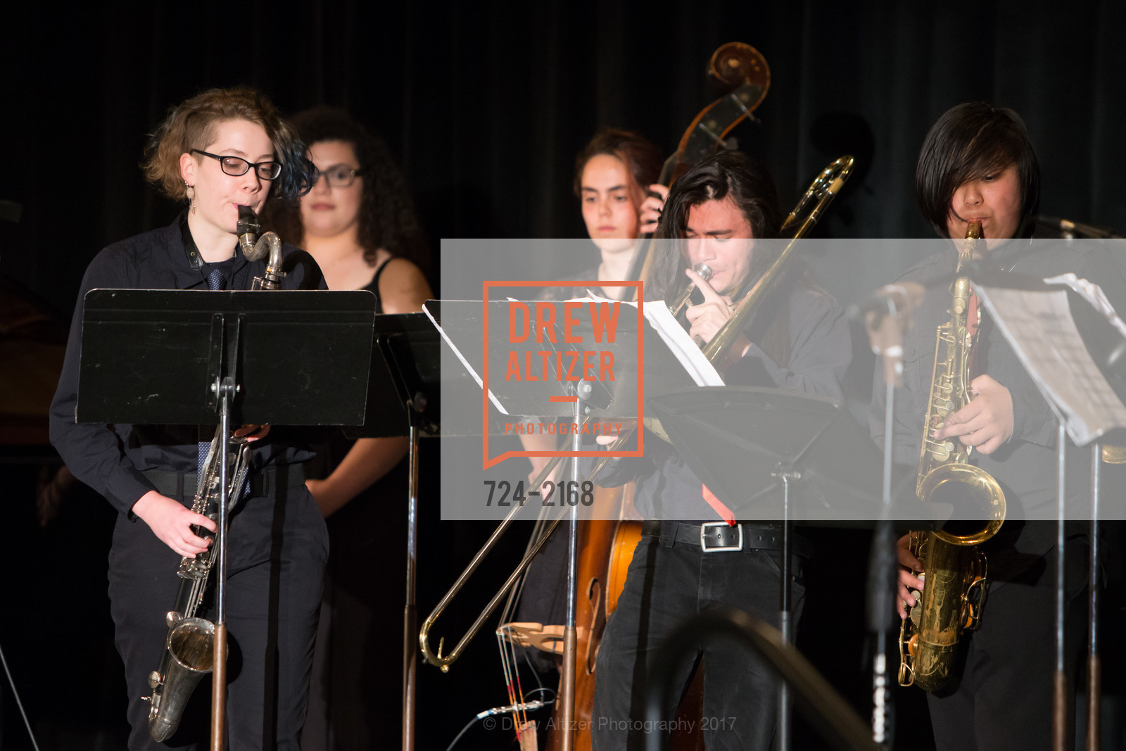 CMC Young Musicians Program Jazz Ensemble, Photo #724-2168