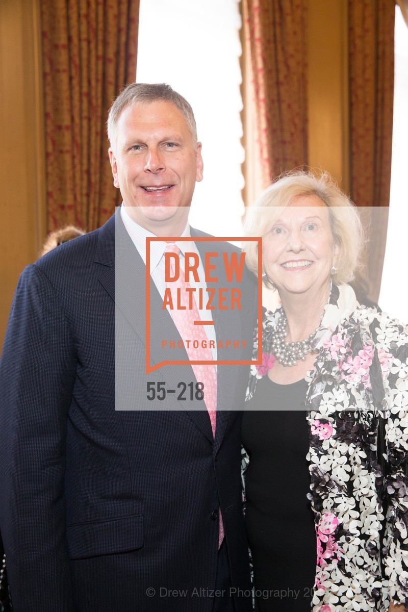 Ernst Bauer, Judith Heuser, Salvation Army Flower Power Luncheon, Sir Francis Drake Hotel. 450 Powell St, August 4th, 2015,Drew Altizer, Drew Altizer Photography, full-service agency, private events, San Francisco photographer, photographer california