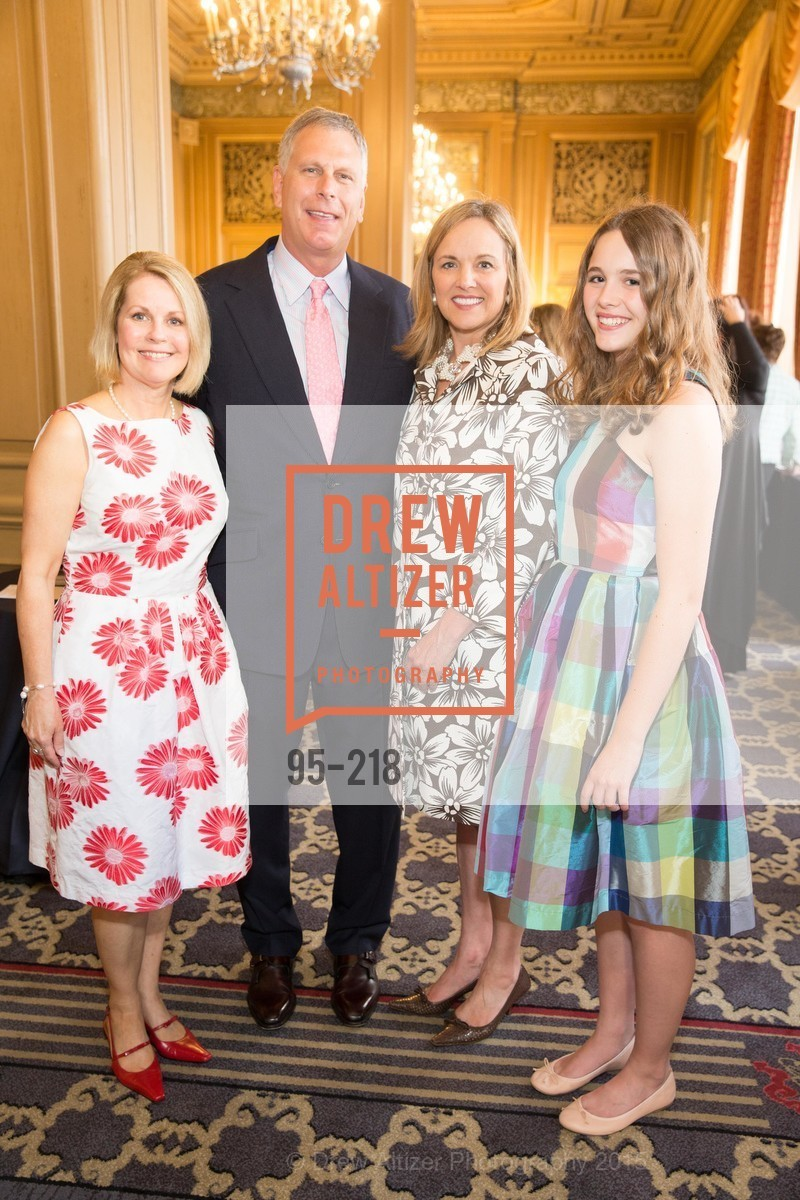 Leslie Bauer, Ernst Bauer, Lisa Syne, Ellsey Syne, Salvation Army Flower Power Luncheon, Sir Francis Drake Hotel. 450 Powell St, August 4th, 2015,Drew Altizer, Drew Altizer Photography, full-service agency, private events, San Francisco photographer, photographer california