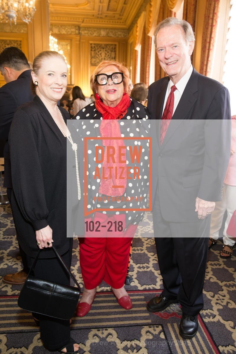Terry Lowry, Ellen Newman, Fred LaCosse, Salvation Army Flower Power Luncheon, Sir Francis Drake Hotel. 450 Powell St, August 4th, 2015,Drew Altizer, Drew Altizer Photography, full-service event agency, private events, San Francisco photographer, photographer California