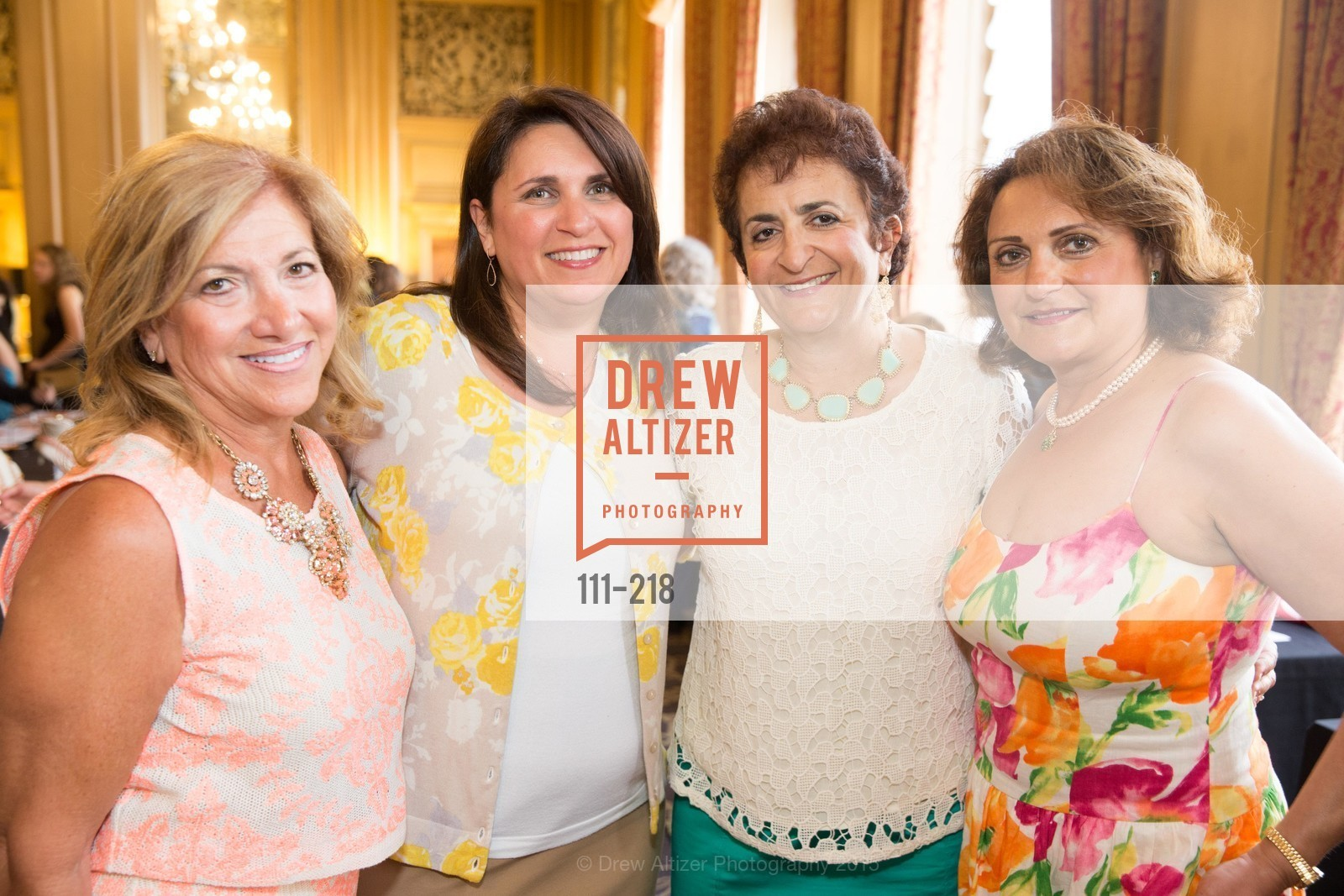 Randa Kreitem, Randa Dudum, Shane Nahass, Sue Dudum, Salvation Army Flower Power Luncheon, Sir Francis Drake Hotel. 450 Powell St, August 4th, 2015,Drew Altizer, Drew Altizer Photography, full-service agency, private events, San Francisco photographer, photographer california