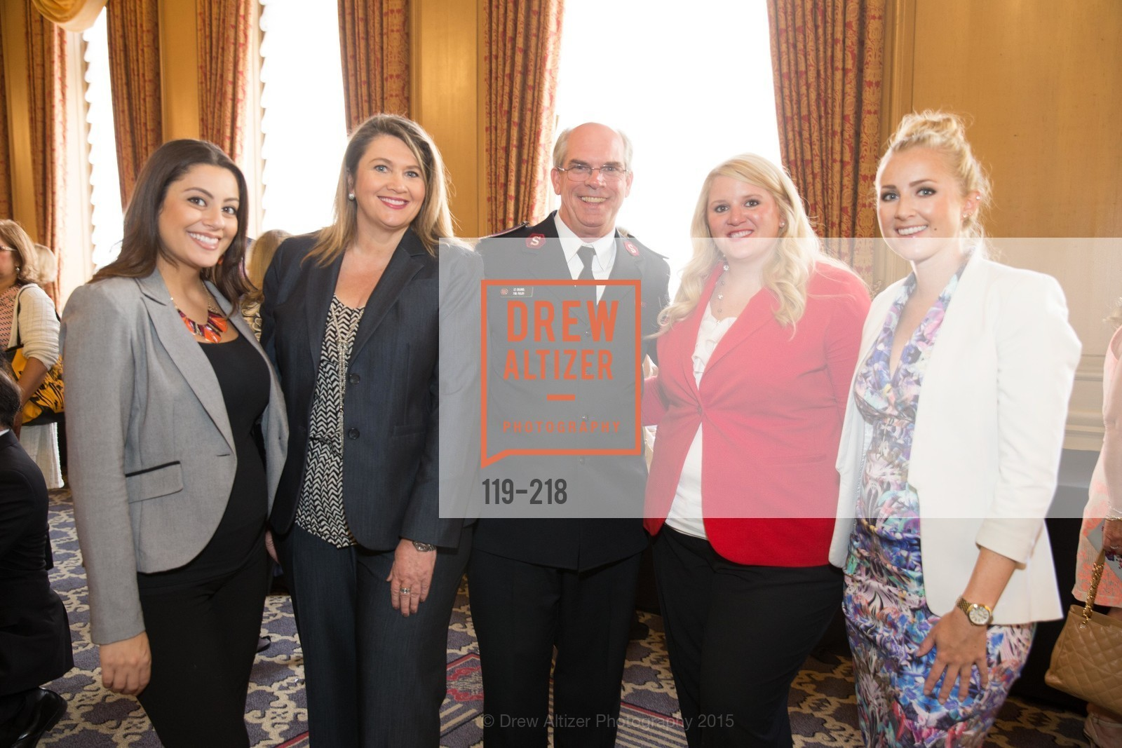 Katherine Lopez, Katy Johnson, Tim Foley, Katie Fitzsimmons, Dyana Reck, Salvation Army Flower Power Luncheon, Sir Francis Drake Hotel. 450 Powell St, August 4th, 2015,Drew Altizer, Drew Altizer Photography, full-service agency, private events, San Francisco photographer, photographer california