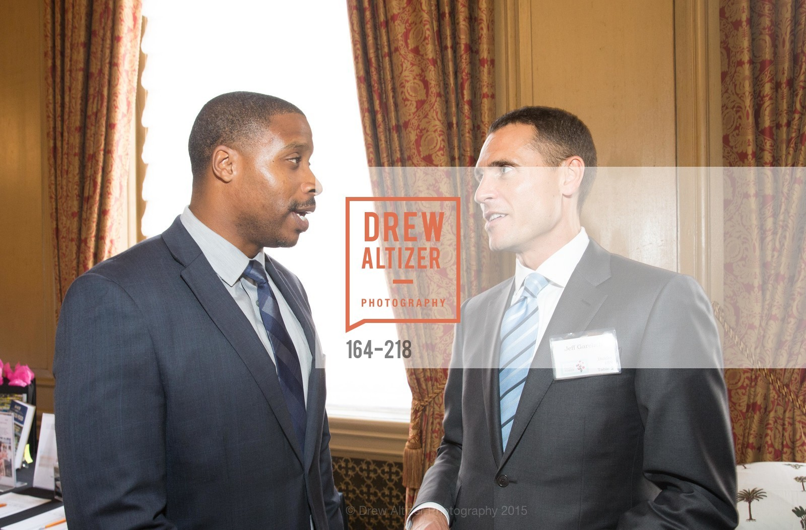 Derrick Brown, Jeff Garelick, Salvation Army Flower Power Luncheon, Sir Francis Drake Hotel. 450 Powell St, August 4th, 2015,Drew Altizer, Drew Altizer Photography, full-service agency, private events, San Francisco photographer, photographer california