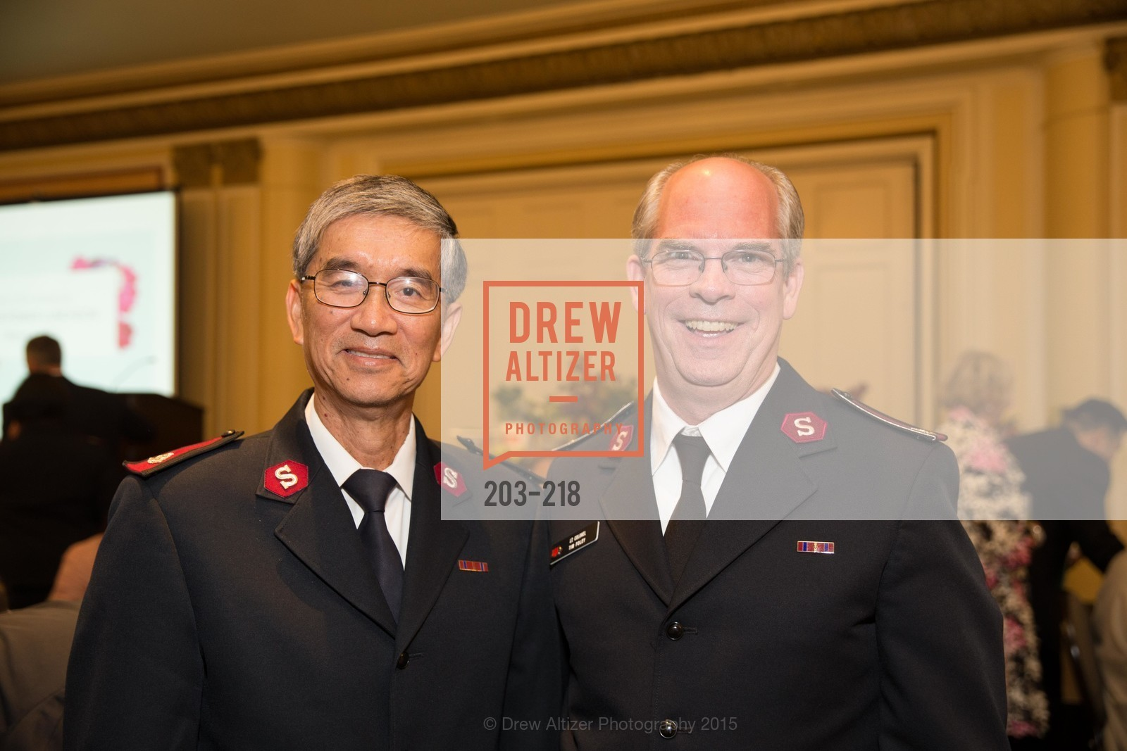 Thomas Mui, Tim Foley, Salvation Army Flower Power Luncheon, Sir Francis Drake Hotel. 450 Powell St, August 4th, 2015,Drew Altizer, Drew Altizer Photography, full-service agency, private events, San Francisco photographer, photographer california