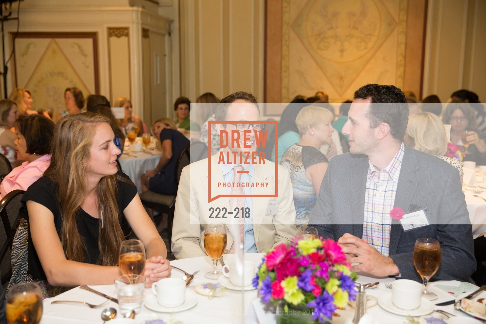 Eli Rosenburg, Scott Tashjian, Salvation Army Flower Power Luncheon, Sir Francis Drake Hotel. 450 Powell St, August 4th, 2015,Drew Altizer, Drew Altizer Photography, full-service event agency, private events, San Francisco photographer, photographer California