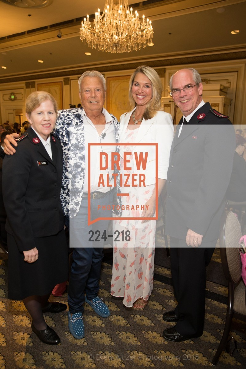 Cindy Foley, Ron Morgan, Juliet Goodrich, Tim Foley, Salvation Army Flower Power Luncheon, Sir Francis Drake Hotel. 450 Powell St, August 4th, 2015,Drew Altizer, Drew Altizer Photography, full-service agency, private events, San Francisco photographer, photographer california