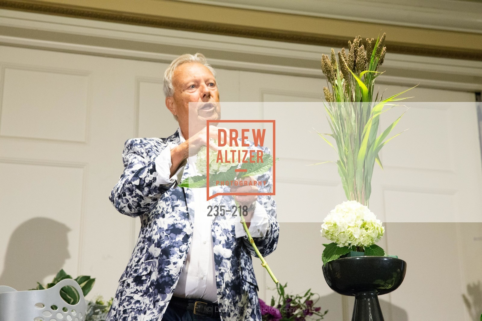 Ron Morgan, Salvation Army Flower Power Luncheon, Sir Francis Drake Hotel. 450 Powell St, August 4th, 2015,Drew Altizer, Drew Altizer Photography, full-service agency, private events, San Francisco photographer, photographer california