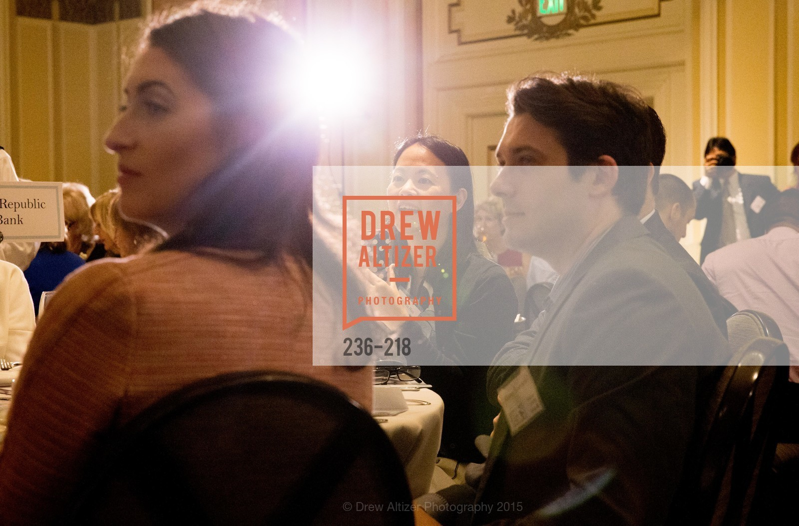 Susanna Han, Garret Spieker, Salvation Army Flower Power Luncheon, Sir Francis Drake Hotel. 450 Powell St, August 4th, 2015,Drew Altizer, Drew Altizer Photography, full-service agency, private events, San Francisco photographer, photographer california