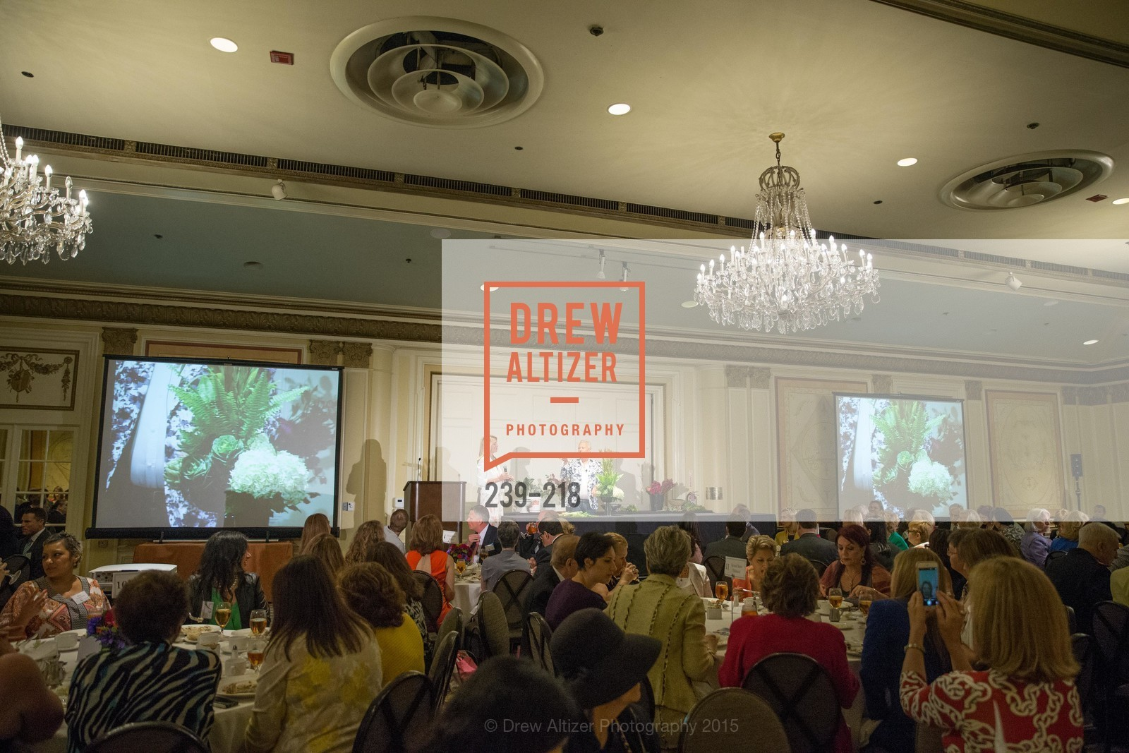 Atmosphere, Salvation Army Flower Power Luncheon, Sir Francis Drake Hotel. 450 Powell St, August 4th, 2015,Drew Altizer, Drew Altizer Photography, full-service event agency, private events, San Francisco photographer, photographer California