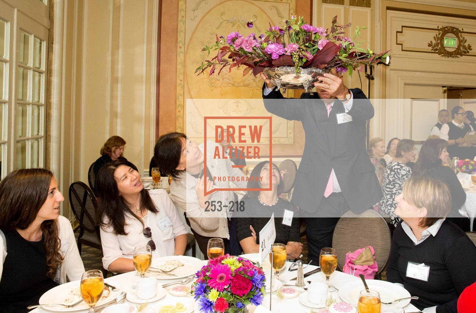 Minna Tao, Ernst Bauer, Salvation Army Flower Power Luncheon, Sir Francis Drake Hotel. 450 Powell St, August 4th, 2015,Drew Altizer, Drew Altizer Photography, full-service agency, private events, San Francisco photographer, photographer california