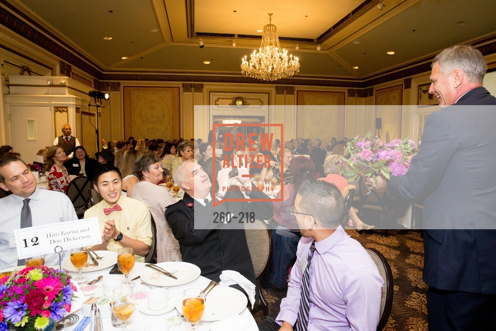 Joey DeProspero, Brandon King, Randy Kinnamon, Salvation Army Flower Power Luncheon, Sir Francis Drake Hotel. 450 Powell St, August 4th, 2015,Drew Altizer, Drew Altizer Photography, full-service agency, private events, San Francisco photographer, photographer california