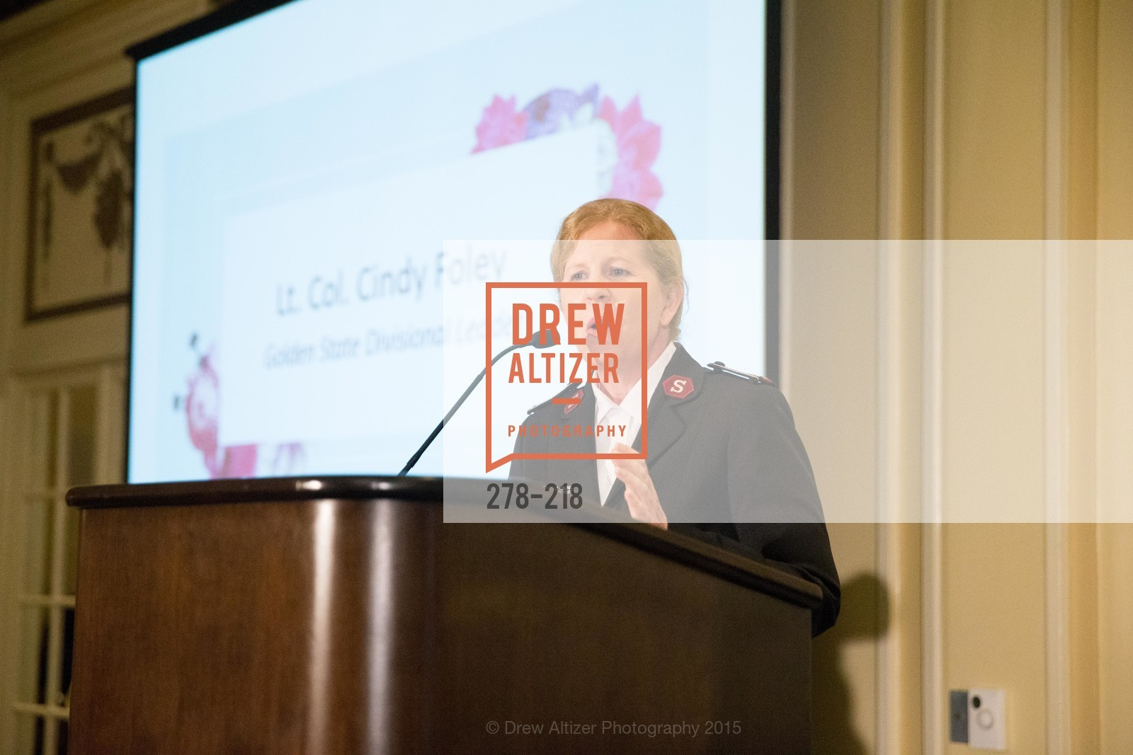 Cindy Foley, Salvation Army Flower Power Luncheon, Sir Francis Drake Hotel. 450 Powell St, August 4th, 2015,Drew Altizer, Drew Altizer Photography, full-service agency, private events, San Francisco photographer, photographer california