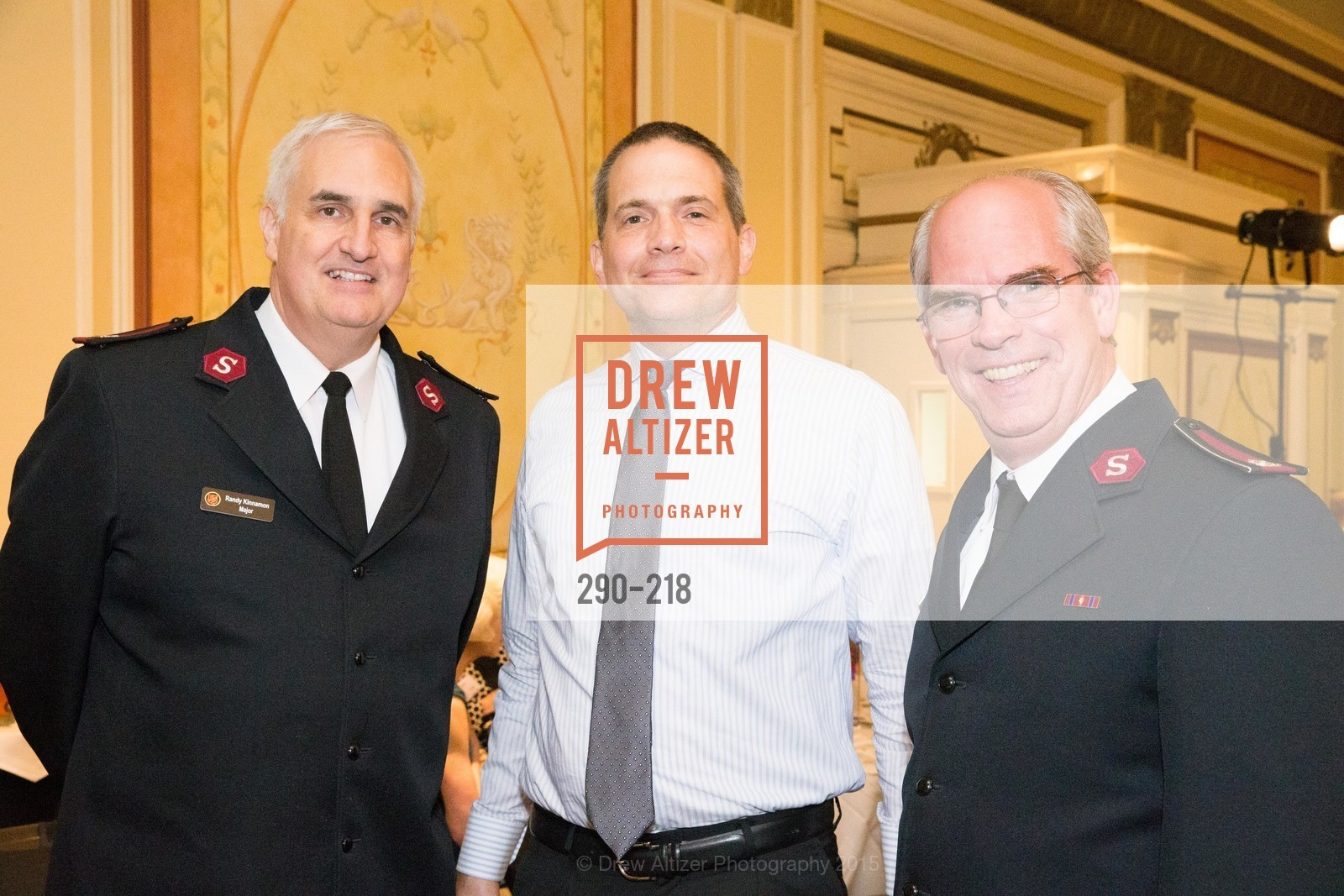 Randy Kinnamon, Don Iverson, Tim Foley, Salvation Army Flower Power Luncheon, Sir Francis Drake Hotel. 450 Powell St, August 4th, 2015,Drew Altizer, Drew Altizer Photography, full-service agency, private events, San Francisco photographer, photographer california