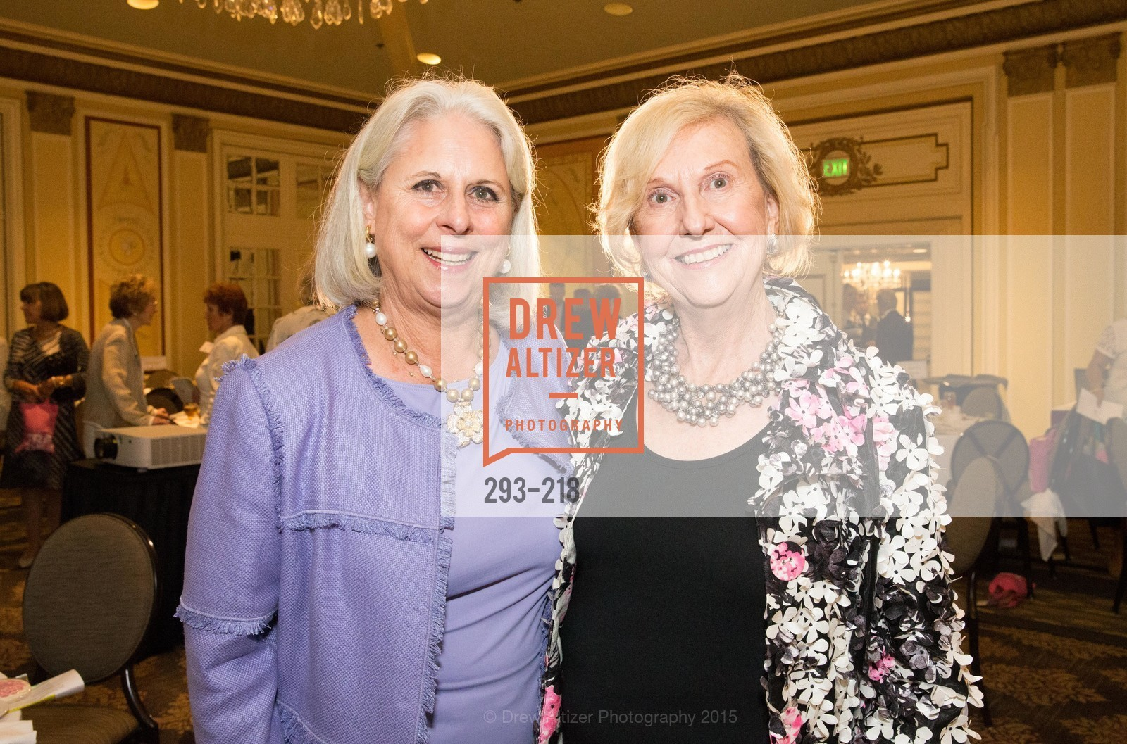 Kiki Holbrook, Judith Heuser, Salvation Army Flower Power Luncheon, Sir Francis Drake Hotel. 450 Powell St, August 4th, 2015,Drew Altizer, Drew Altizer Photography, full-service agency, private events, San Francisco photographer, photographer california