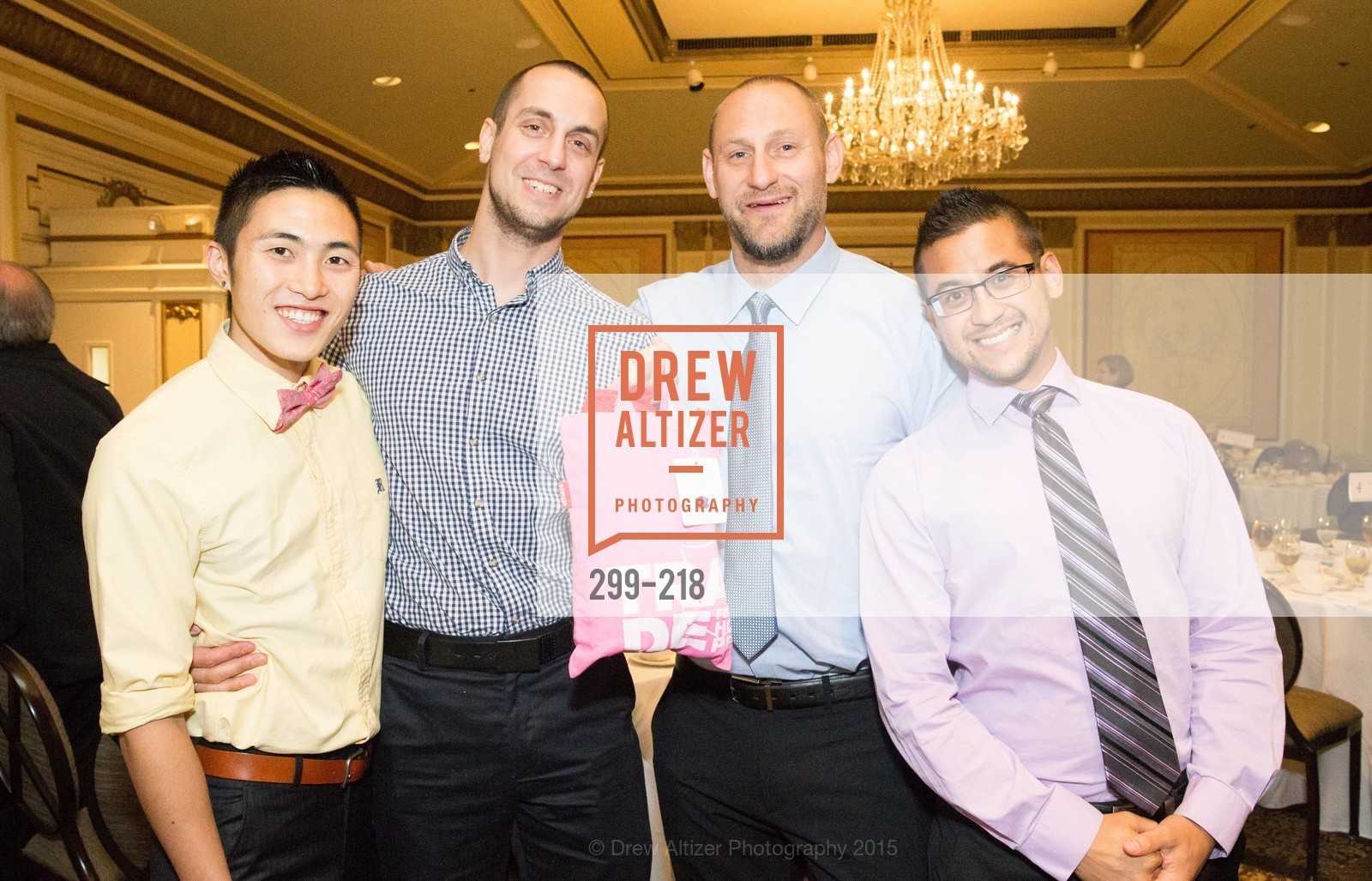 Brandon King, Ryan Rench, Joey DeProspero, Joey McFarland, Salvation Army Flower Power Luncheon, Sir Francis Drake Hotel. 450 Powell St, August 4th, 2015,Drew Altizer, Drew Altizer Photography, full-service event agency, private events, San Francisco photographer, photographer California