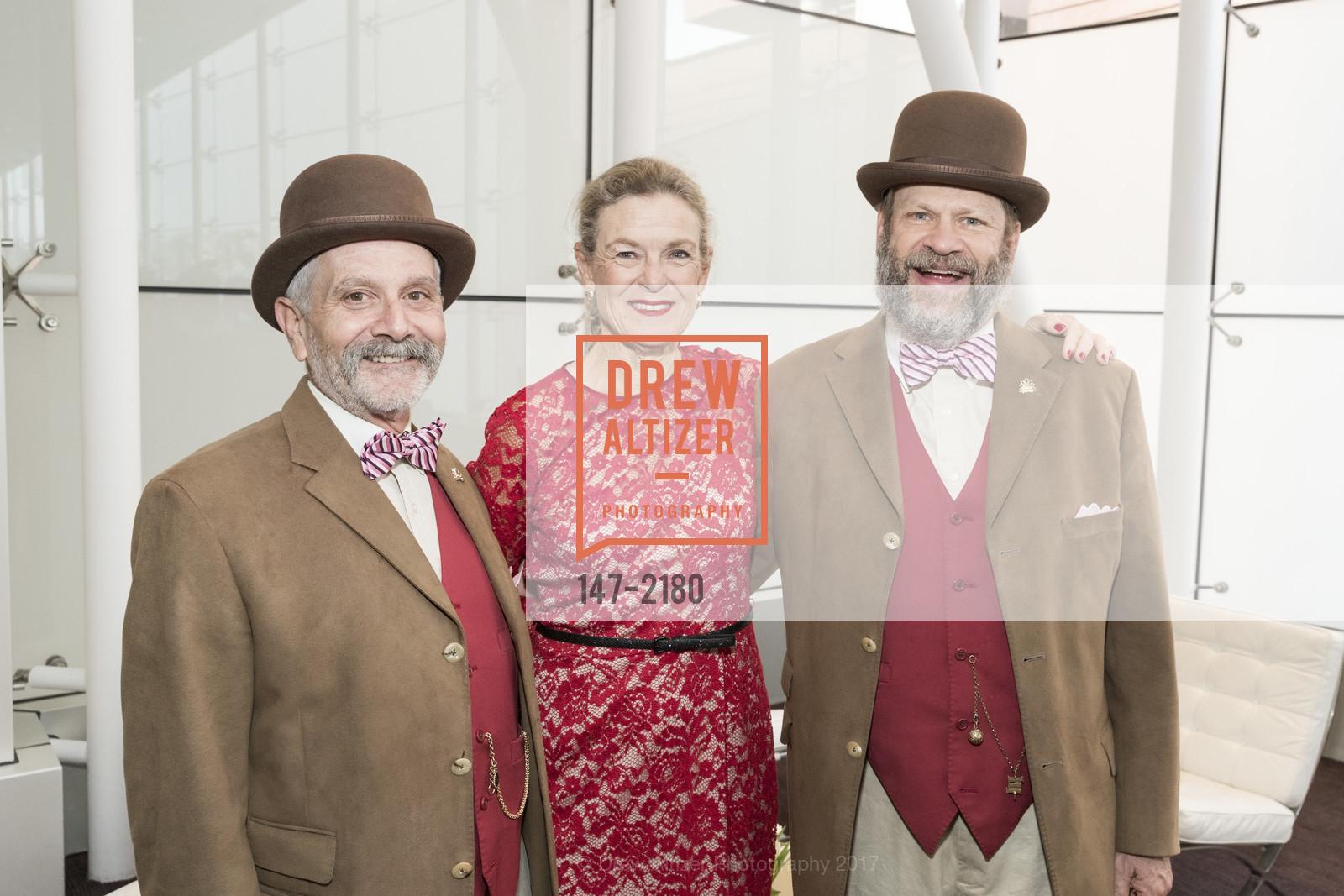 David Laudon, Heidi Munzinger, Randy Laroche, Photo #147-2180