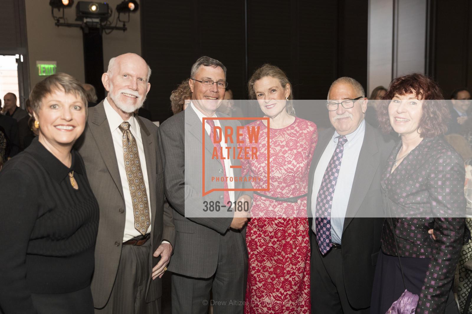 Janet Cluff, Lloyd Cluff, John Shott, Heidi Munzinger, Gary Glaser, Christine Miller, Photo #386-2180