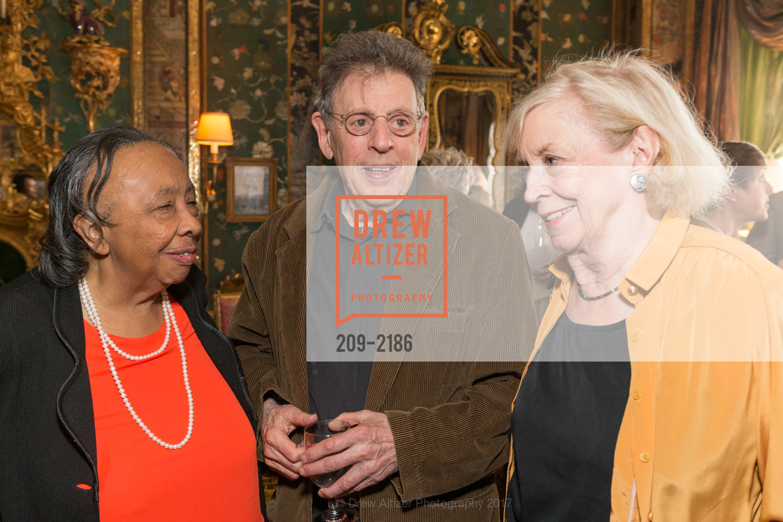Sylvia Lindsay, Philip Glass, Marie Collins, Photo #209-2186
