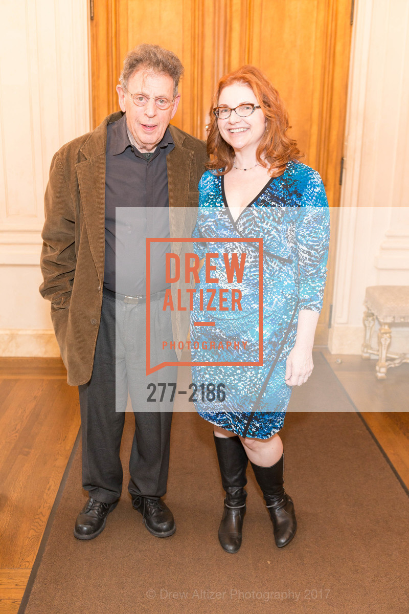 Philip Glass, Lisa Delan, Photo #277-2186