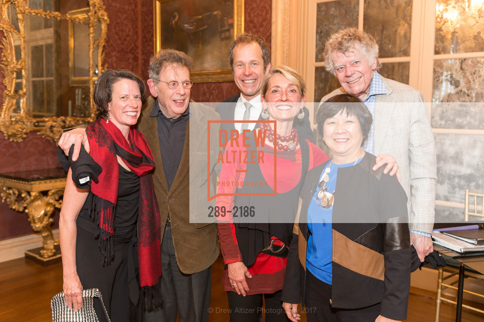 Amy Seiwert, Philip Glass, Brian Staufenbiel, Nicole Paiement, Gordon Getty, Debbie Chinn, Photo #289-2186