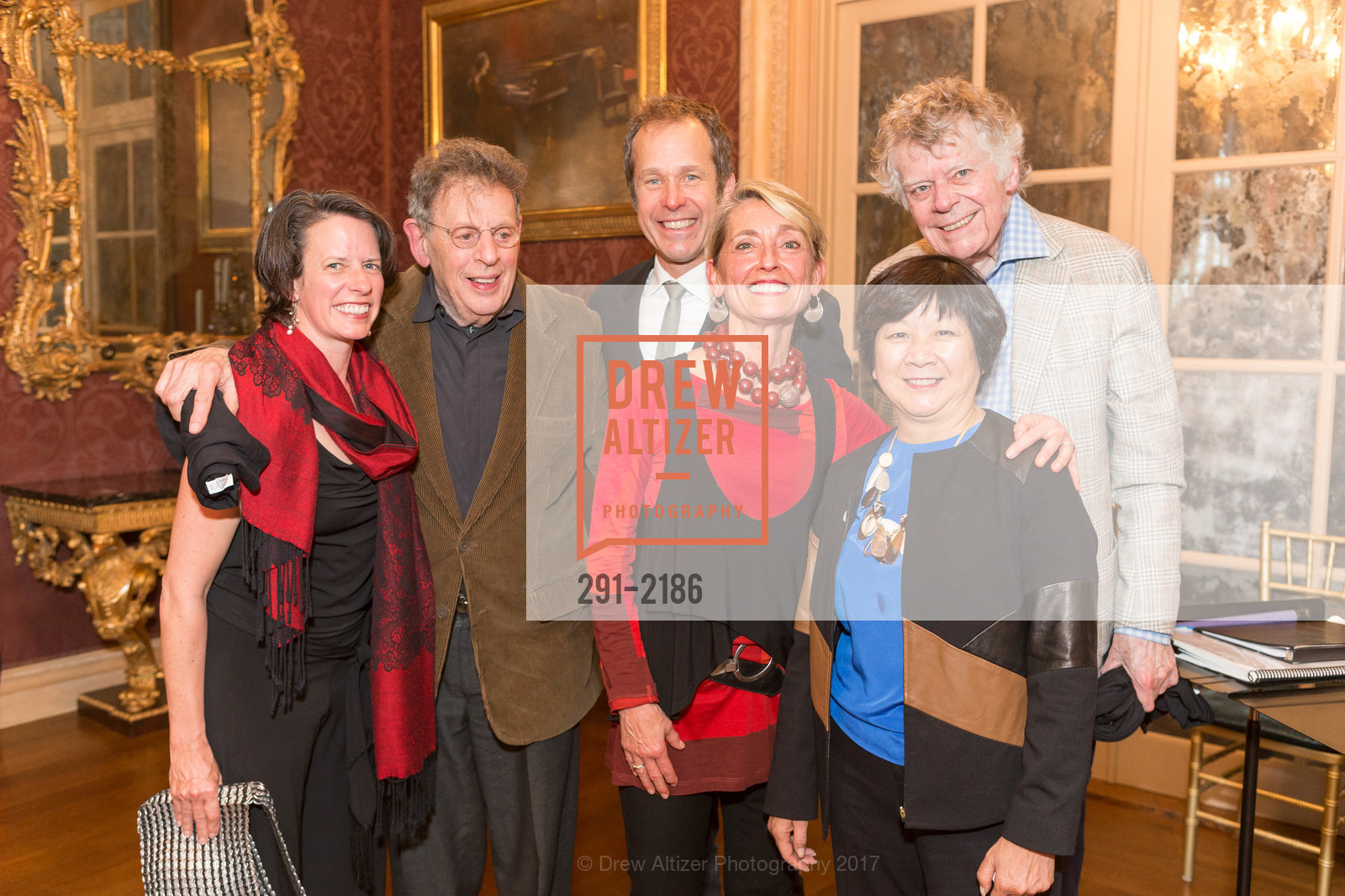 Amy Seiwert, Philip Glass, Brian Staufenbiel, Nicole Paiement, Gordon Getty, Debbie Chinn, Photo #291-2186