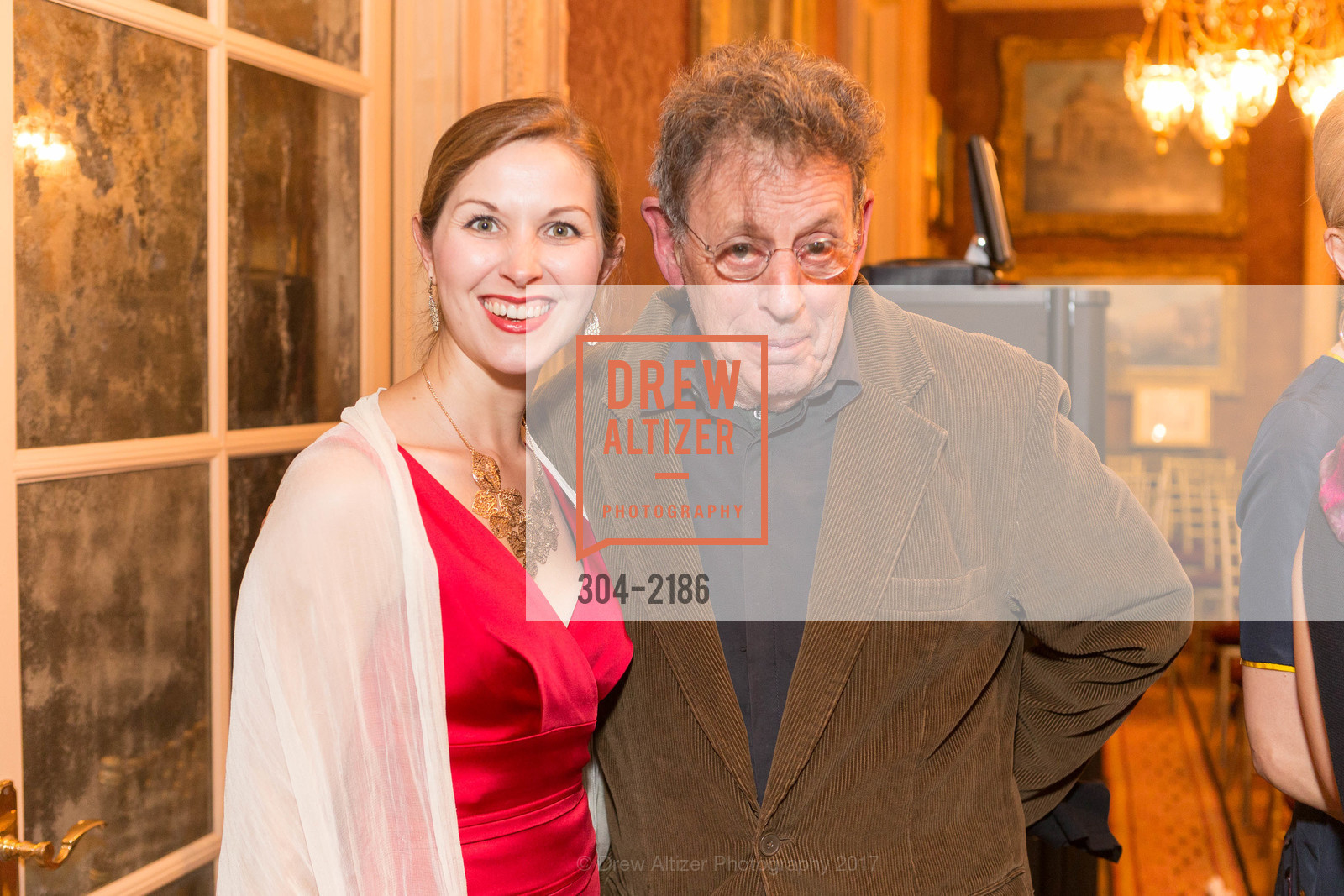 Rachel Schutz, Philip Glass, Photo #304-2186