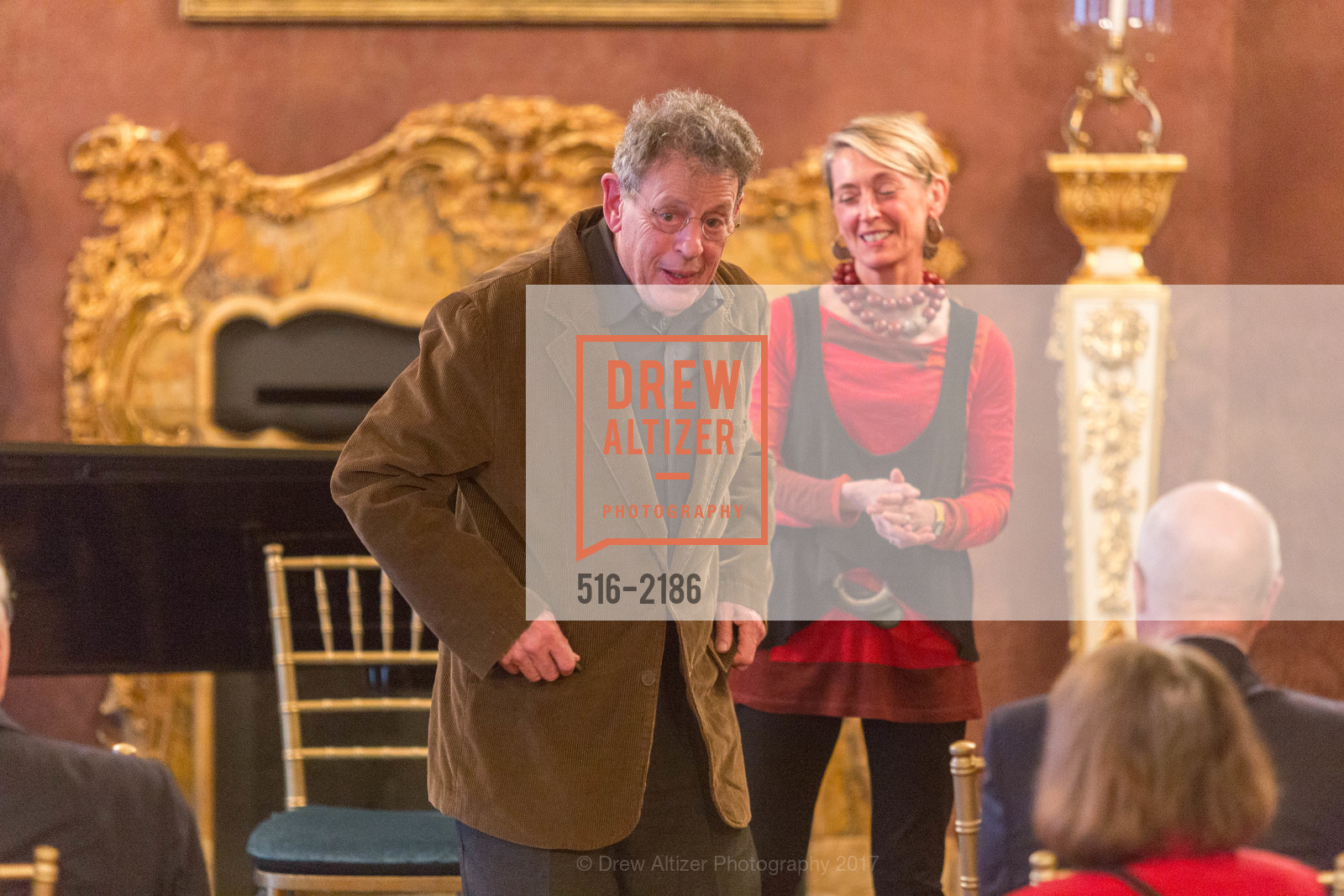 Philip Glass, Nicole Paiement, Photo #516-2186