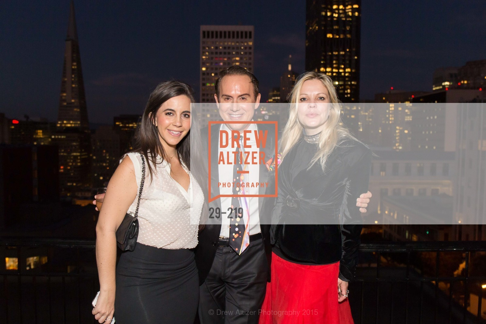 Samantha DeBianchi, Joel Goodrich, Tatiana Takaeva, Champagne Reception & Screening of Million Dollar Listing San Francisco, University Club. 800 Powell St, August 5th, 2015,Drew Altizer, Drew Altizer Photography, full-service agency, private events, San Francisco photographer, photographer california