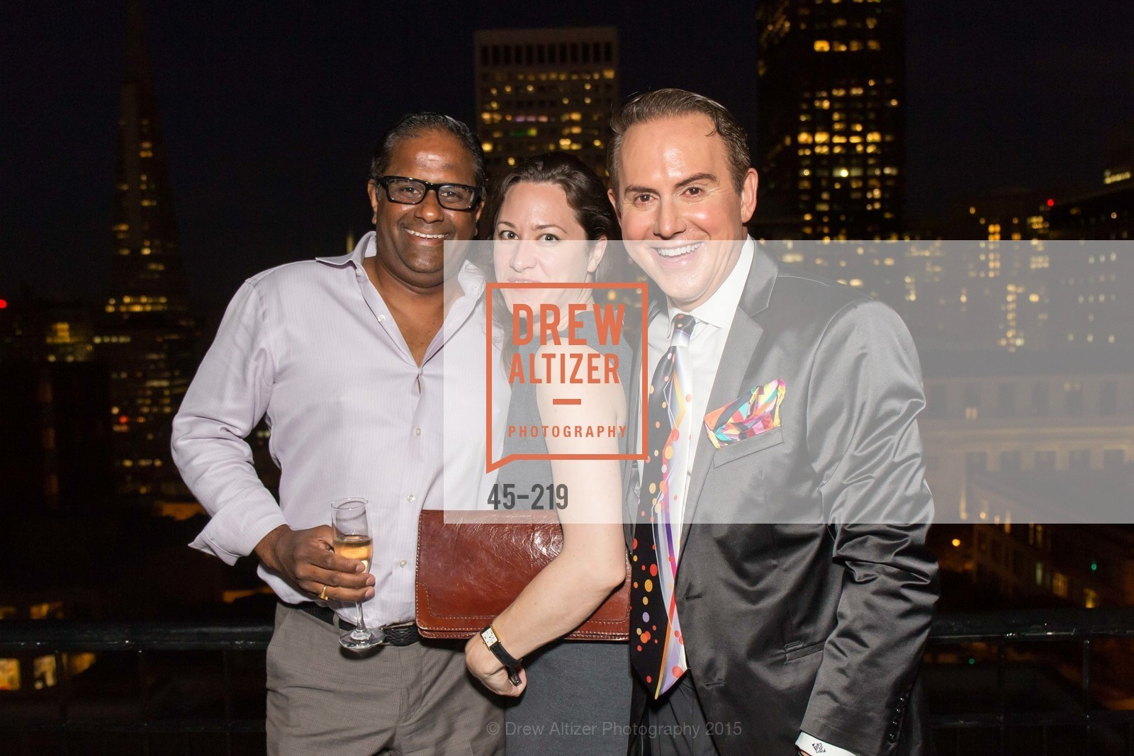 Kannan Ayyar, Maggie Stack King, Joel Goodrich, Champagne Reception & Screening of Million Dollar Listing San Francisco, University Club. 800 Powell St, August 5th, 2015,Drew Altizer, Drew Altizer Photography, full-service event agency, private events, San Francisco photographer, photographer California